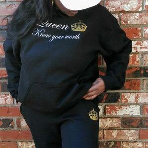Queen 2piece Sweatsuit